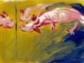 Axolotl, sketches 4